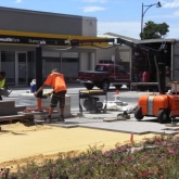 Brick Paving Perth Vacuum Machine In Action - Photo7 - Challenge Brick Paving Contractors