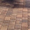 Swimming pool brick paving