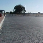 Challenge Brick Paving Perth - Prix Cars - Entry Gate to Hardstand