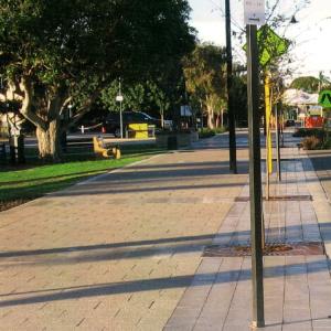 Challenge Brick Paving - Mandurah streetscape-paving