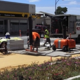 Brick Paving Perth Vacuum Machine In Action - Photo2 - Challenge Brick Paving Contractors