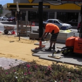 Brick Paving Perth Vacuum Machine In Action - Photo6 - Challenge Brick Paving Contractors
